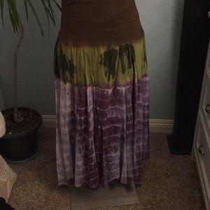 Dresses & Skirts - TIEDYE SKIRT